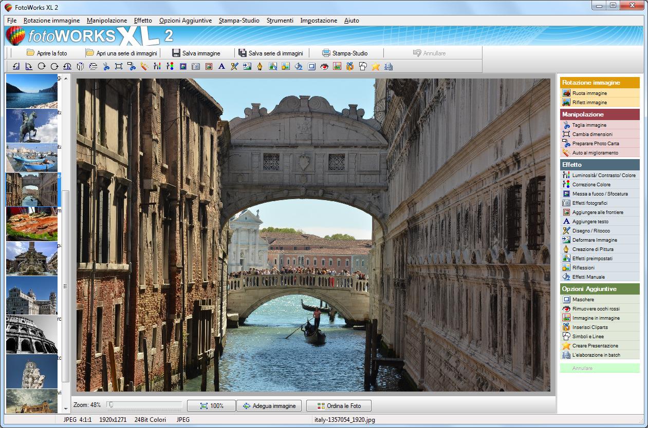 Programma per modificare foto fotoworks 2017 in italiano - Programmi per disegnare mobili gratis in italiano ...