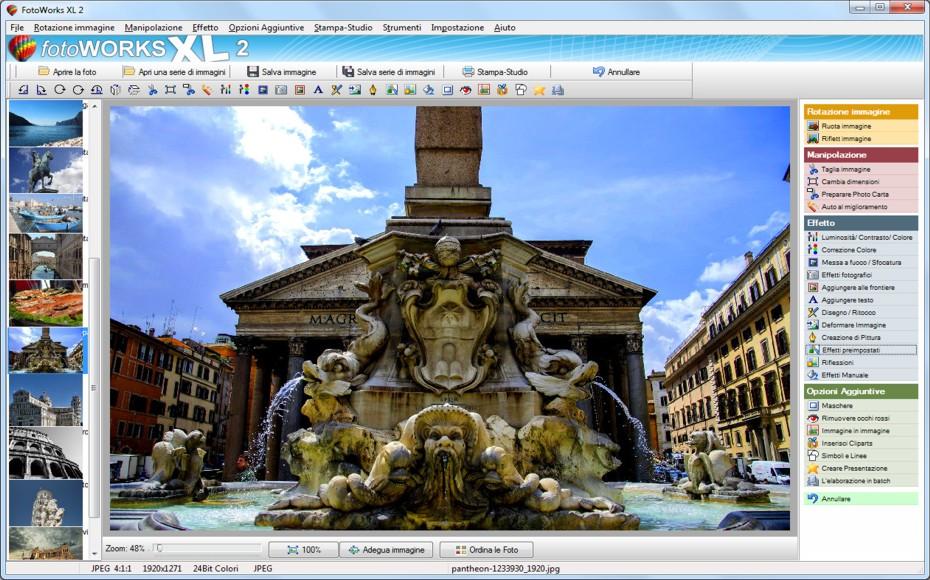Scarica il programma fotoritocco gratis fotoworks xl for Fotoritocco